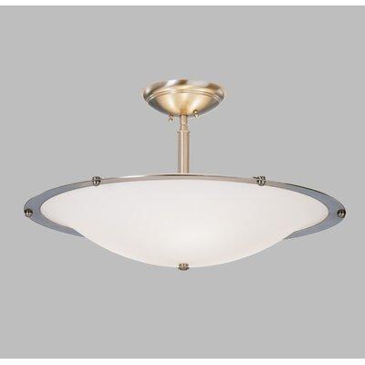 Diva Mezzo Pendant with Single Stem Finish Frame: Architectural Bronze, Bulb Type: Fluorescent