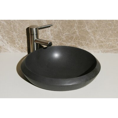 Self Rimming Bathroom Sink Sink Finish: Black Lava