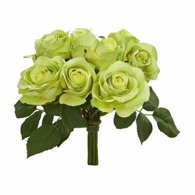 Rose Bush Floral Arrangement Flower Color: Green