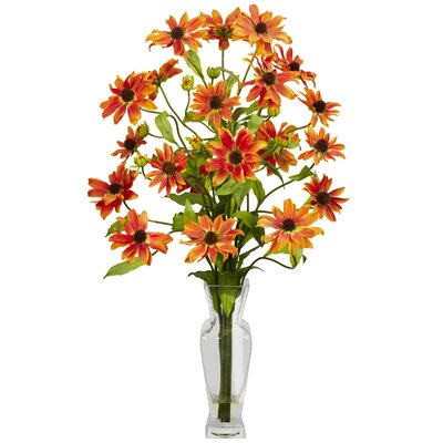 Cosmos with Vase Silk Floral Arrangements 1172-OR