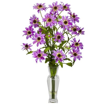 Cosmos with Vase Silk Flower Arrangement 1172-PP