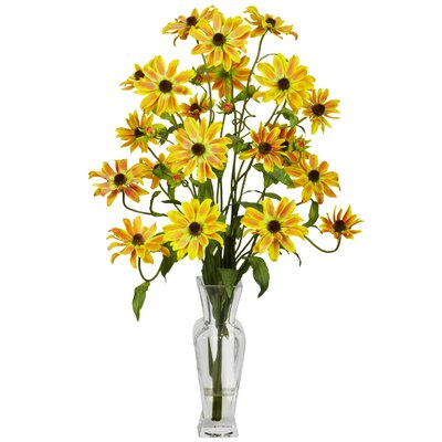 Cosmos with Vase Silk Floral Arrangements 1172-YL