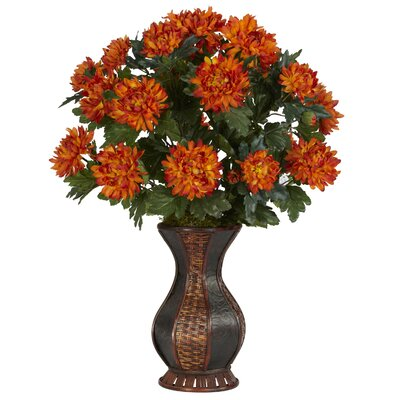 Spider Mum Desk Top Plant in Urn 6664
