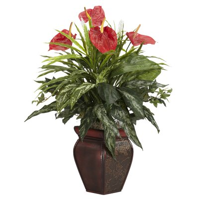 Red Faux Plants | Wayfair