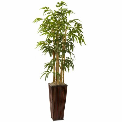Nearly Natural Bamboo Tree in Planter I