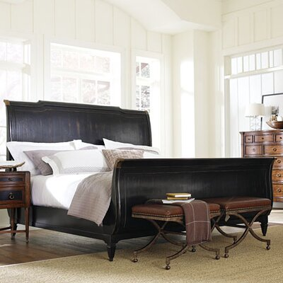 Furniture leasing American Kaleidoscope Sleigh Bed Si...