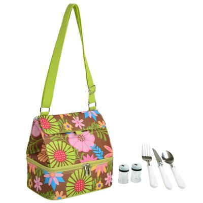 Floral Insulated Lunch Bag 529D-F