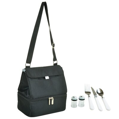 Insulated Lunch Bag 529D-BLK