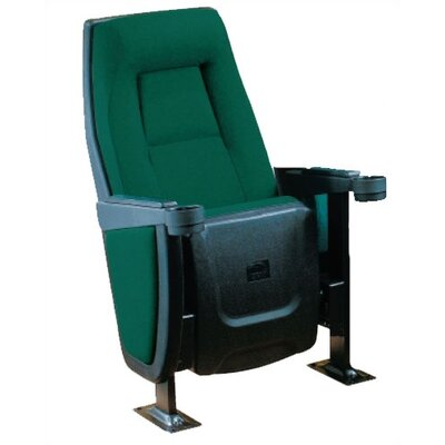 Presidential Home Theater Individual Seat Color: Nusuede - Kiwi