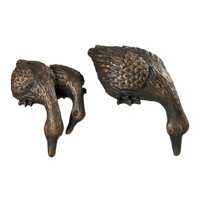2 Piece Duck Sitter Shelf Set