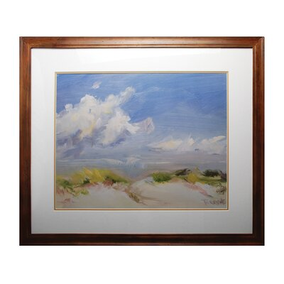 Clouds Framed Painting Print