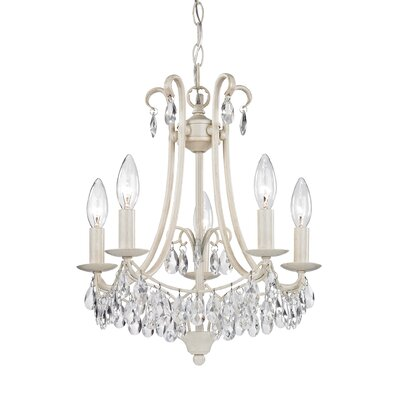 Bilertine 5-Light Candle-Style Chandelier