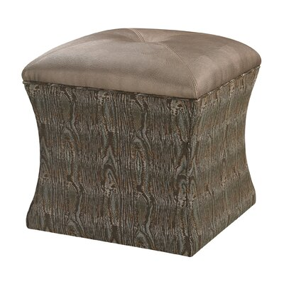 Luxe Ottoman Upholstery: Green