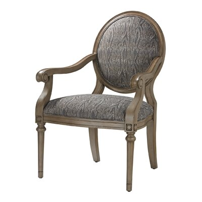 Luxe Accent Armchair Color: Grey