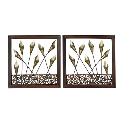 Delph Framed Tulip 2 Piece Framed Graphic Art Set