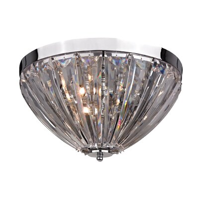 Bilbo 3-Light Semi-Flush Mount