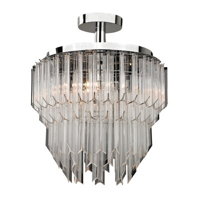 Kyles 3-Light Semi-Flush Mount
