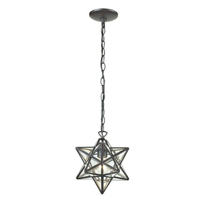 1-Light Star Foyer Pendant