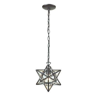 1-Light Star Foyer Pendant