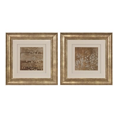 Golden Rule 2 Piece Framed Painting Print Set