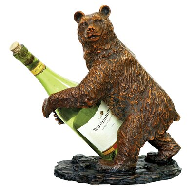 Bear 1 Bottle Tabletop Wine Rack