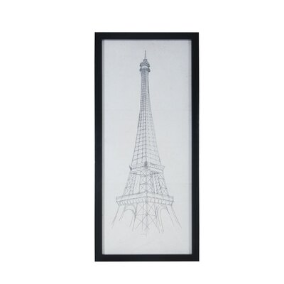 Eiffel Tower Painting Print