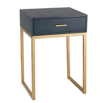 Selah Shagreen End Table