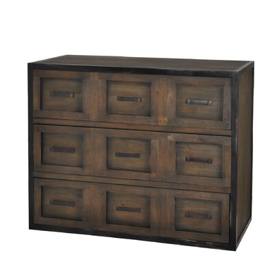 Nova 3 Drawer Gentlemans Chest