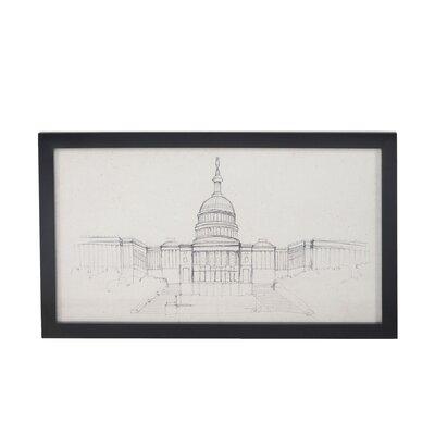 U.S. Capitol Painting Print