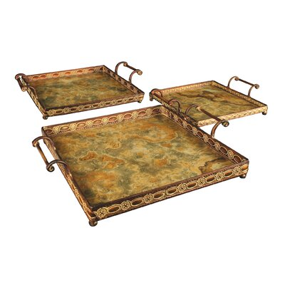 Sterling Industries Three Piece Malta Square Tray Set at Sears.com