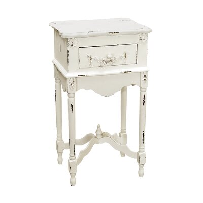 Cheap Sterling Industries Milkpaint Side Table in White (SIF1681)