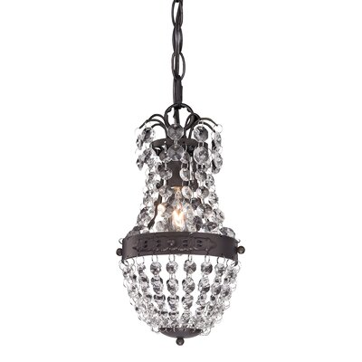 Kissel 1-Light Mini Pendant
