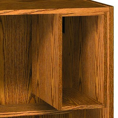 Glacier 20.5 H x 11 W Desk CPU Holder Finish: Dixie Oak