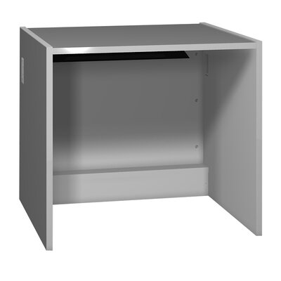 Glacier 32.125 H x 36 W Desk Connector Finish: Folkstone Grey