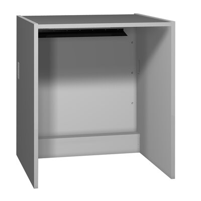 Glacier 39.625 H x 36 W Desk Connector Finish: Folkstone Grey