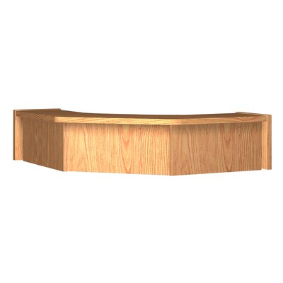 Glacier 10 H x 36.25 W Desk Hutch Finish: Amber Ash