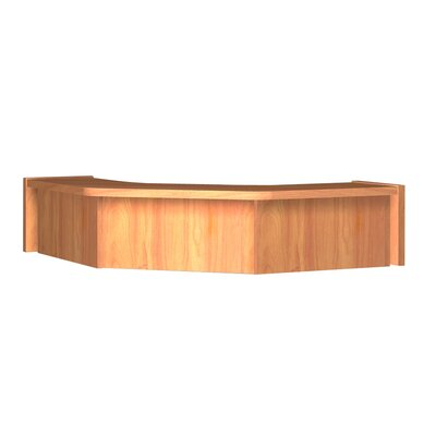 Glacier 10 H x 36.25 W Desk Hutch Finish: Oiled Cherry