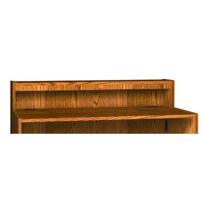 Glacier 10 Shelving Unit Finish: Dixie Oak, Size: 10 H x 36 W x 10 D