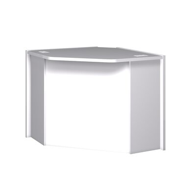 Glacier 32.125 H x 51.375 W Desk Connector Finish: Folkstone Grey