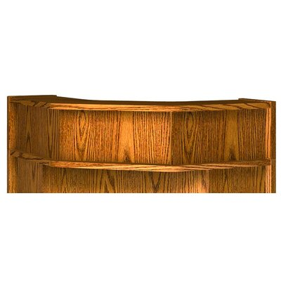 Glacier 10 H x 36.25 W Desk Hutch Finish: Dixie Oak