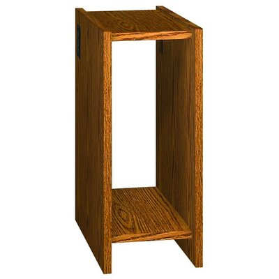 Glacier 30 H x 12.62 W Desk CPU Holder Finish: Dixie Oak