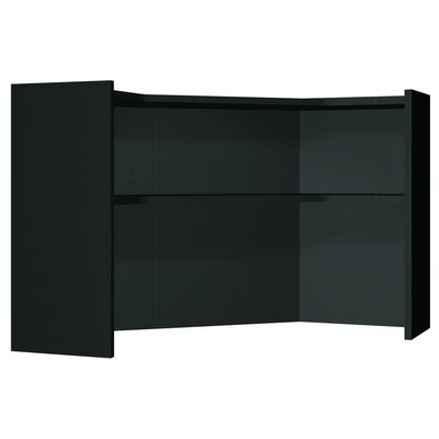 Modular 36 H x 57.25 W Desk Hutch Finish: Black