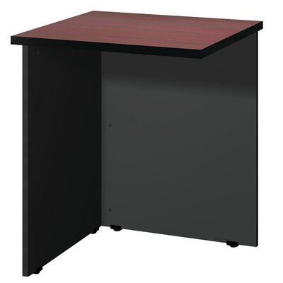 Modular 28.38 H x 23.75 W Desk Bridge Finish: Mahogany / Black