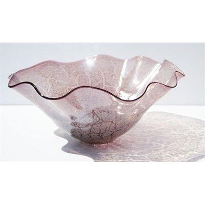 Hand Blown Decorative Decorative Bowl 1028