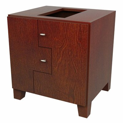 MDV Modular Cabinetry Footed Base Cabinet Finish: Traditional Cherry, Orientation: Right Hand