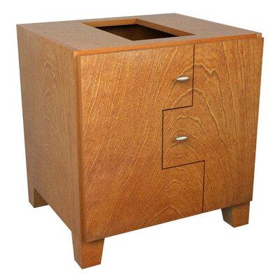 MDV Modular Cabinetry Footed Base Cabinet Finish: Golden Oak, Orientation: Left Hand