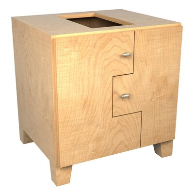 MDV Modular Cabinetry Footed Base Cabinet Finish: Maple, Orientation: Left Hand