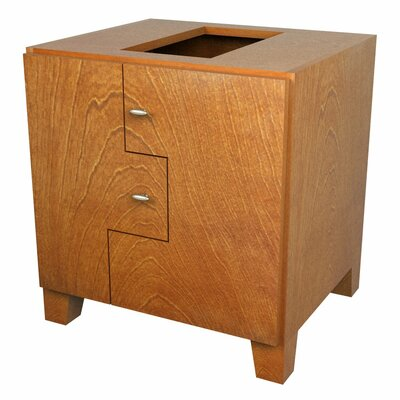 MDV Modular Cabinetry Footed Base Cabinet Finish: Golden Oak, Orientation: Right Hand