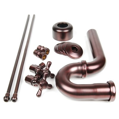 Brass Plumbing Traditional Decorative P-Trap Kit Finish: Victorian Bronze