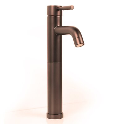 Brass Plumbing Single Hole Porus Vessel Faucet with Levers Handle Finish: Victorian Bronze